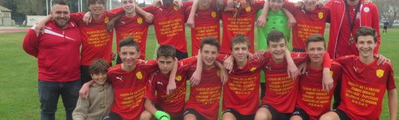 RESULTATS FC VILLENEUVE  WEEKEND DES 16 ET 17 MARS 2019
